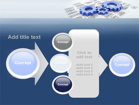 logistic Gears PowerPoint Template Slide 17
