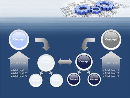logistic Gears PowerPoint Template Slide 19
