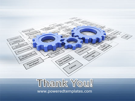 logistic Gears PowerPoint Template Slide 20
