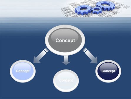 logistic Gears PowerPoint Template Slide 4