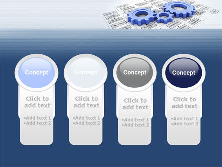 logistic Gears PowerPoint Template Slide 5