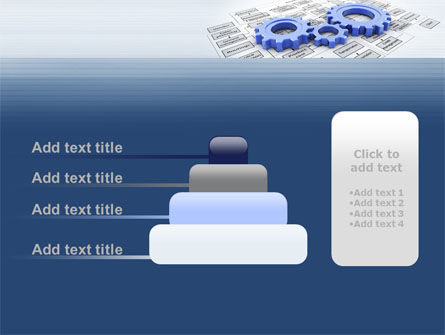 logistic Gears PowerPoint Template Slide 8
