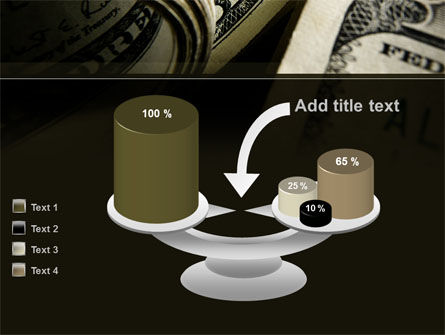 One Hundred Dollars Print PowerPoint Template Slide 10
