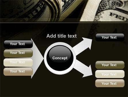 One Hundred Dollars Print PowerPoint Template Slide 14