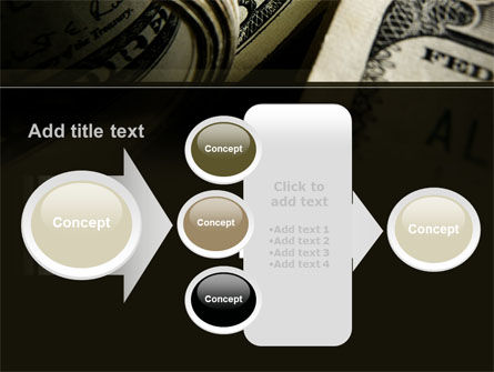 One Hundred Dollars Print PowerPoint Template Slide 17
