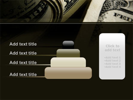One Hundred Dollars Print PowerPoint Template Slide 8