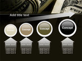 One Hundred Dollars Print PowerPoint Template#13