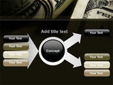 One Hundred Dollars Print PowerPoint Template#14