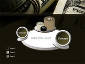 One Hundred Dollars Print PowerPoint Template#16