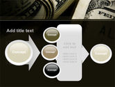 One Hundred Dollars Print PowerPoint Template#17