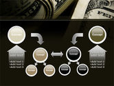 One Hundred Dollars Print PowerPoint Template#19