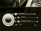 One Hundred Dollars Print PowerPoint Template#3
