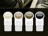 One Hundred Dollars Print PowerPoint Template#5