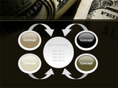 One Hundred Dollars Print PowerPoint Template#6