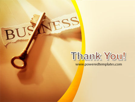 Key Of Business PowerPoint Template Slide 20