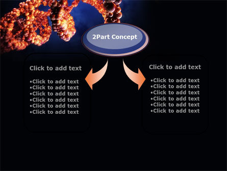 DNA Portrait PowerPoint Template, Slide 4, 09572, Technology and Science — PoweredTemplate.com