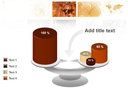 Abstract Light Brown PowerPoint Template Slide 10