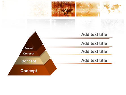 Abstract Light Brown PowerPoint Template Slide 12