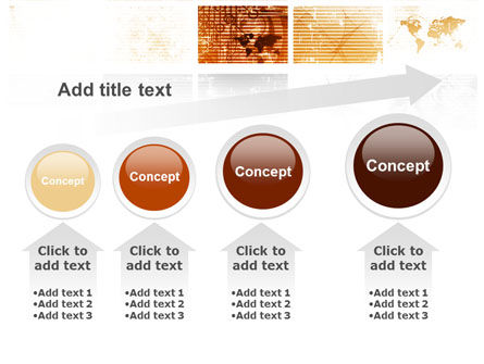 Abstract Light Brown PowerPoint Template Slide 13