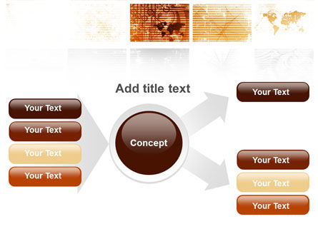 Abstract Light Brown PowerPoint Template Slide 14