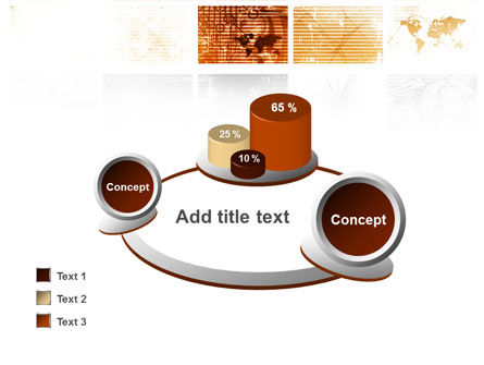 Abstract Light Brown PowerPoint Template Slide 16