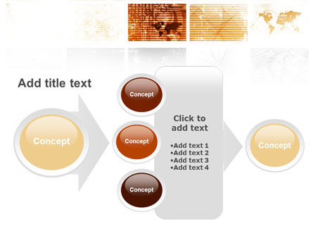 Abstract Light Brown PowerPoint Template Slide 17