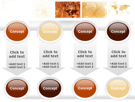 Abstract Light Brown PowerPoint Template Slide 18