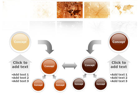 Abstract Light Brown PowerPoint Template Slide 19