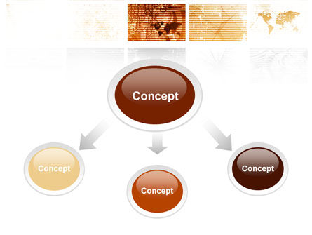 Abstract Light Brown PowerPoint Template Slide 4