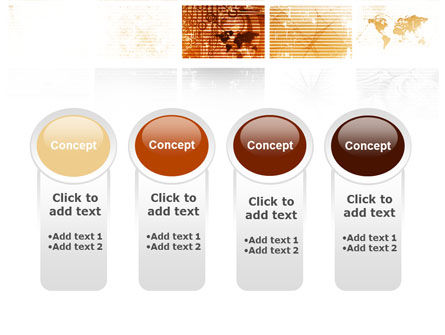 Abstract Light Brown PowerPoint Template Slide 5