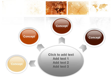 Abstract Light Brown PowerPoint Template Slide 7