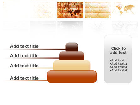 Abstract Light Brown PowerPoint Template Slide 8