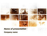 Abstract/Textures: Abstract Light Brown PowerPoint Template #09573
