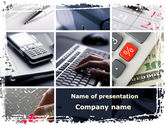 Financial/Accounting: Financieel Projectmanagement PowerPoint Template #09574
