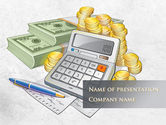 Financial/Accounting: Financial Accountant PowerPoint Template #09576