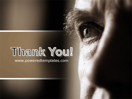 Portrait of Old Man PowerPoint Template Slide 20