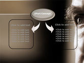 Portrait of Old Man PowerPoint Template#4