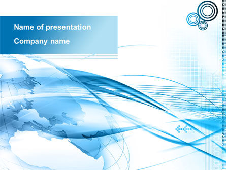 Blue Earth PowerPoint Template
