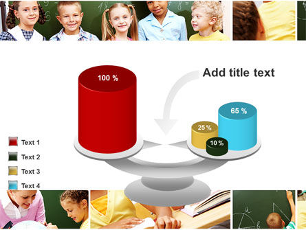 Primary School Kids PowerPoint Template Slide 10
