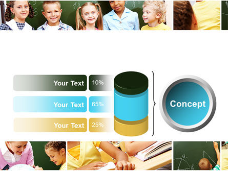 Primary School Kids PowerPoint Template Slide 11