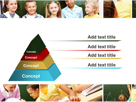 Primary School Kids PowerPoint Template Slide 12