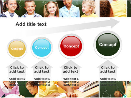Primary School Kids PowerPoint Template Slide 13
