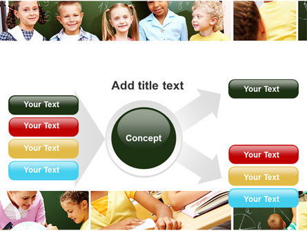 Primary School Kids PowerPoint Template Slide 14