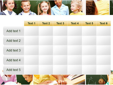 Primary School Kids PowerPoint Template Slide 15