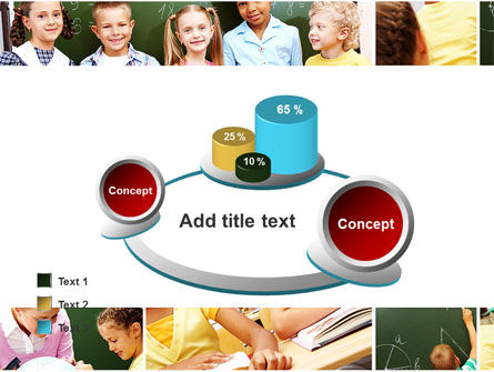 Primary School Kids PowerPoint Template Slide 16