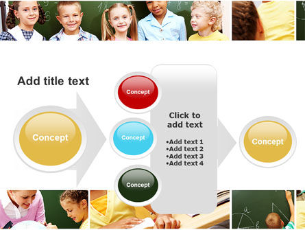 Primary School Kids PowerPoint Template Slide 17