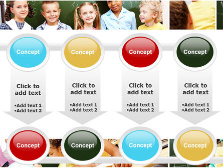 Primary School Kids PowerPoint Template Slide 18