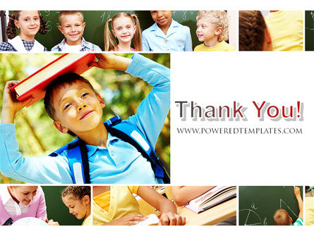 Primary School Kids PowerPoint Template Slide 20