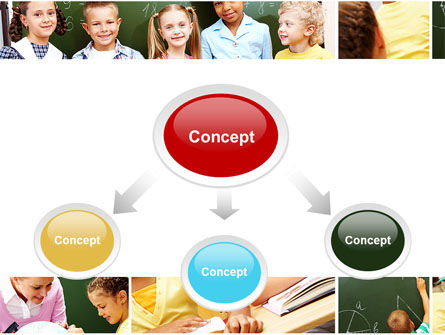 Primary School Kids PowerPoint Template Slide 4