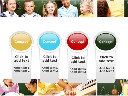Primary School Kids PowerPoint Template Slide 5